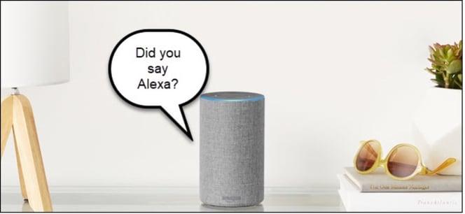 Did you say Alexa