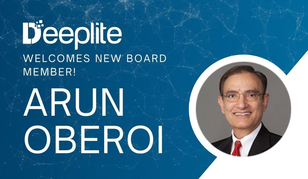 Deeplite Names Arun Oberoi to Board of Directors